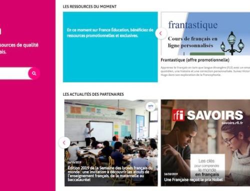 France Education : la plateforme pour apprendre et enseigner le français —LudoMag