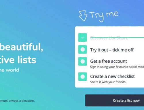 Listshare. Créer des listes à partager facilement —Outils Collaboratifs