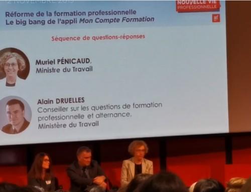 E-learning et Importance du tutorat à distance, vu par Muriel Pénicaud —CPFormation