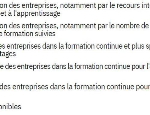 Regards comparatifs sur la formation professionnelle en Europe : le modèle français s'essouffle-t-il ? —CPFormation
